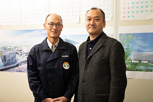 右:星野時彦さん、左:佐々木直也さん