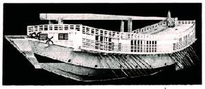 「快風丸」模型(水戸市立博物館蔵)